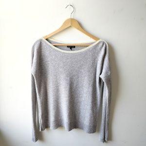 🆕 Eileen Fisher Grey Linen Blouse